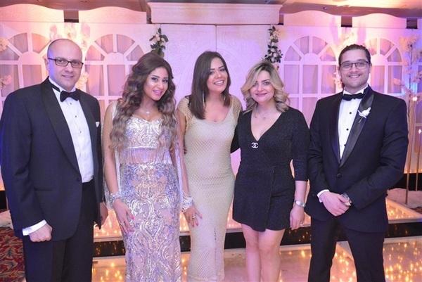 بالصور نجوم الفن والمجتمع يتواجدون في زفاف سعد ووردة