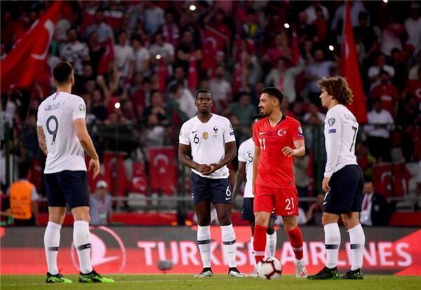 فرنسا تلتقي بتركيا في تصفيات أمم أوروبا