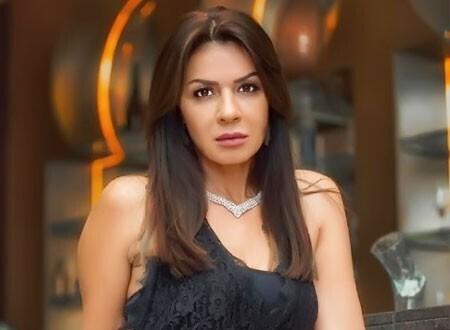 نجلاء بدر تحتفل بعيد ميلاد عمرو دياب
