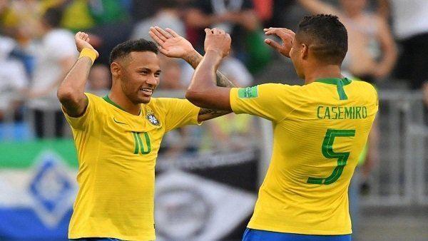 لقاء البرازيل ونيجيريا