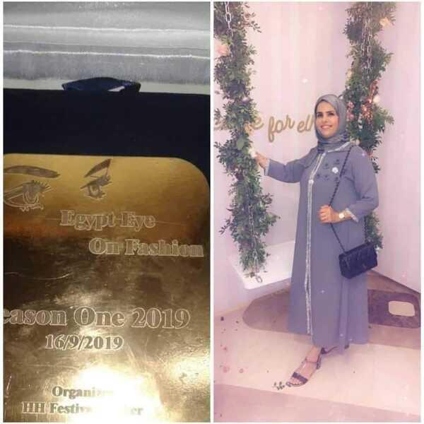 """صورة ربيعة خرتة: سعيدة بتكريمي في مهرجان """"Egypt fashion """" كأفضل خبيرة تجميل في 2019"""