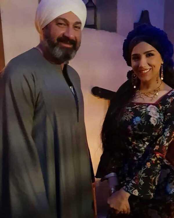 مي عمر تواصل تصوير مشاهدها من مسلسل الفتوة