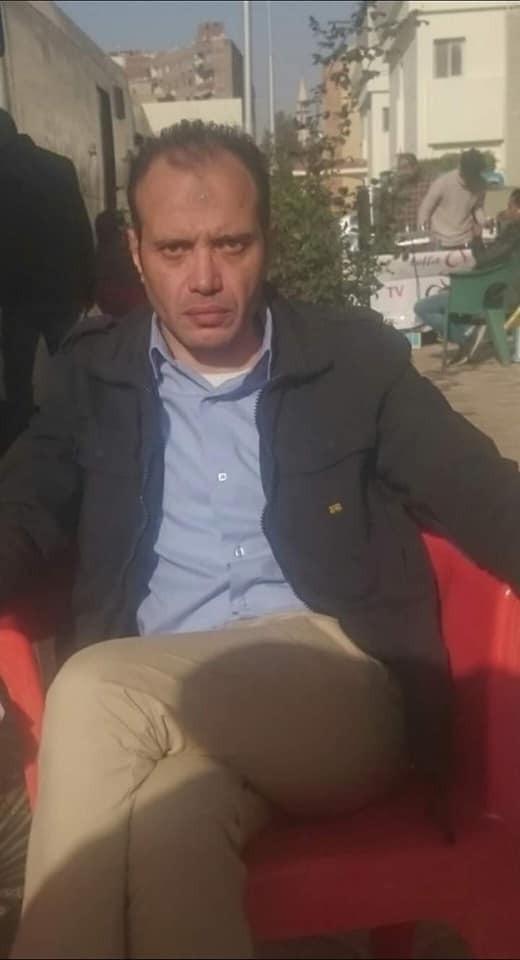احمد ثابت يواصل تصويره مشاهده من مسلسل الاختيار