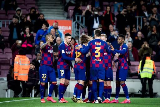 برشلونة يحقق فوزا صعبا على نظيره ليفانتي بمنافسات الليجا