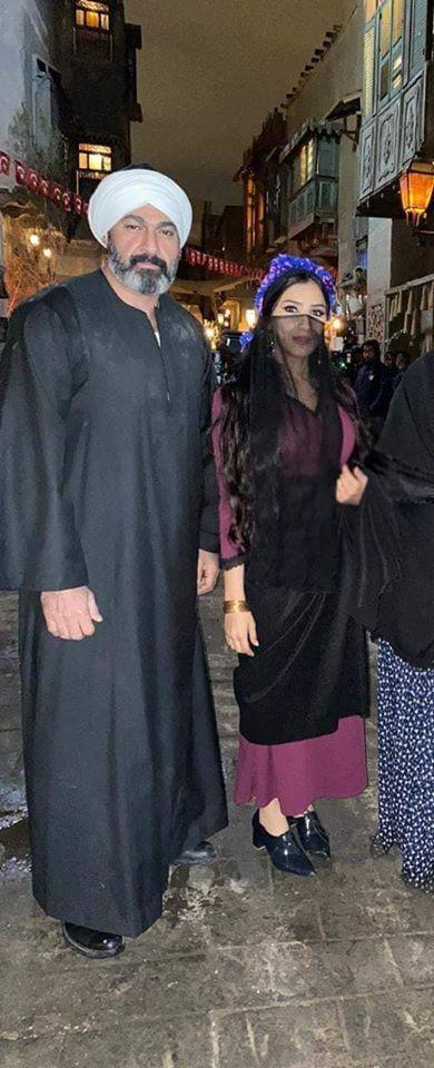 ياسر جلال يشارك جمهوره كواليس مسلسل الفتوة