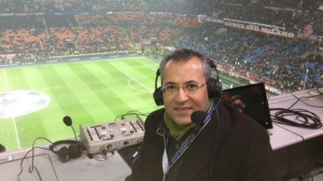 علي محمد علي معلقا لمباراة برشلونة واتلتيكو مدريد في الليجا