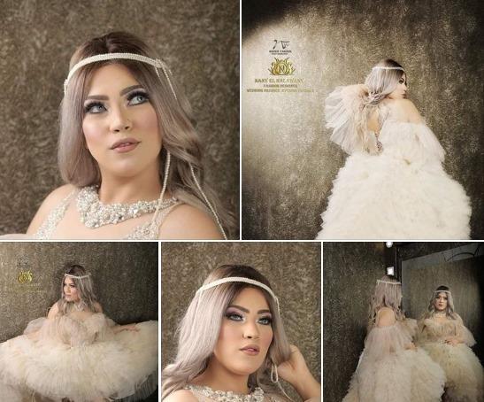 ندى ناصر تتألق في جلسة جديدة بعدسة ناصر فاروق