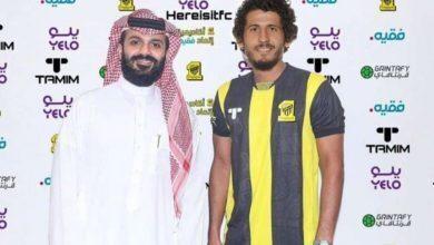 صورة احمد حجازي ينتقل رسميا إلى صفوف اتحاد جدة