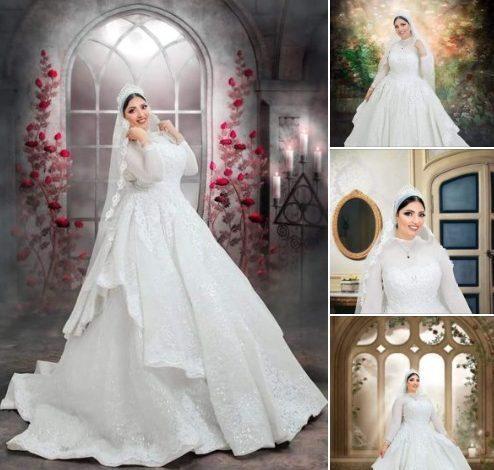 صورة سهام محمد تتألق بزي العروسة بواسطة عمرو فان ديزل