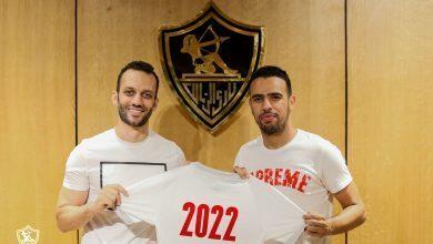 صورة رسمياً الزمالك يعلن تجديد عقد حازم إمام حتي عام 2022