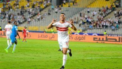 صورة مصطفي محمد يقود هجوم نادي الزمالك أمام الإسماعيلي في الدوري المصري الممتاز