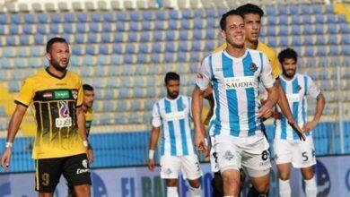 صورة بيراميدز يواجه المقاولون في ختام الدوري المصري