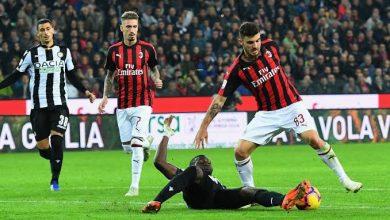 صورة موعد مباراة أودينيزي وميلان 1‐11‐2020 ..والقنوات الناقلة بالدوري الإيطالي