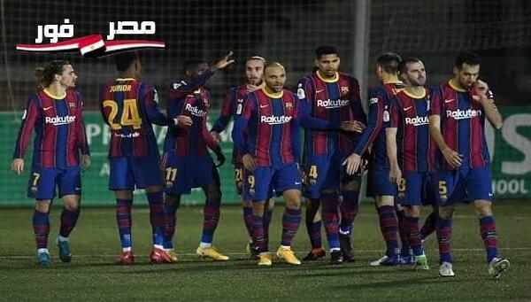 التشكيلة الرسمية لبرشلونة وإلتشى فى مباراة اليوم بالدورى الإسبانى